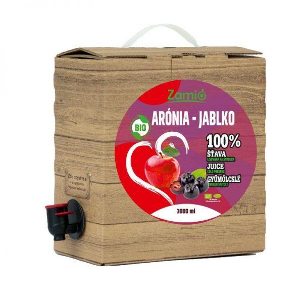 100% šťava BIO Arónia - BIO Jablko 3L