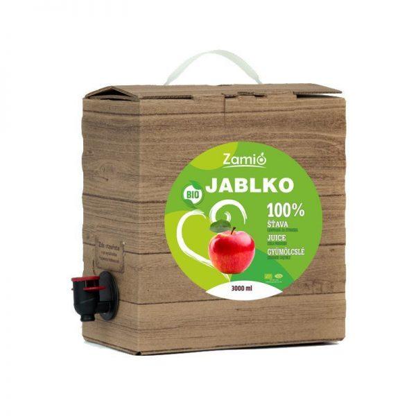 100% šťava BIO Jablko 3L