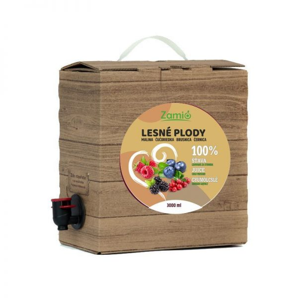 100% ovocná šťava Lesné plody 3L
